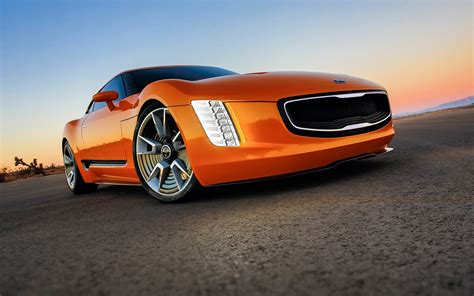 kia supercar 2014 kia gt4 stinger concept supercar t wallpaper