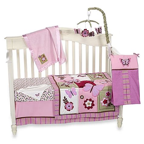 nojo crib bedding nojo 174 emily crib bedding collection buybuy baby