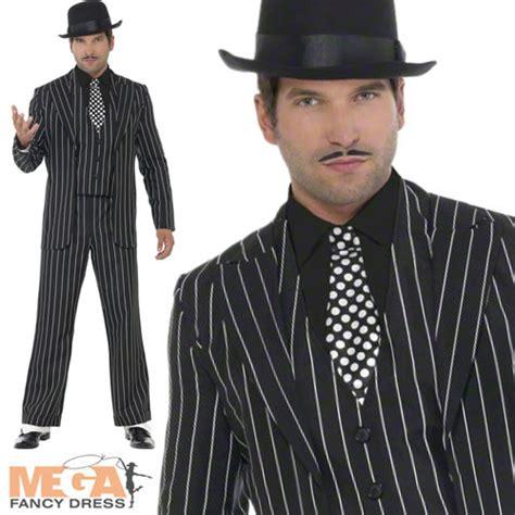 vintage gangster suit mens fancy dress 1920s costume