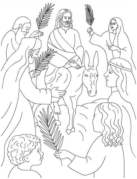 Flip Flop Coloring Pages Flip Flop Coloring Pages Palm Sunday Coloring Page