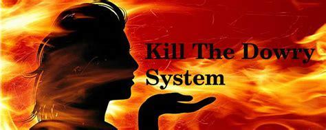 kill the dowry system sparkle words social blog