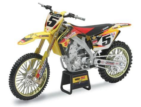 toys r us motocross bikes 1 12 suzuki rmz450 dungey rockstar replica dirt bike