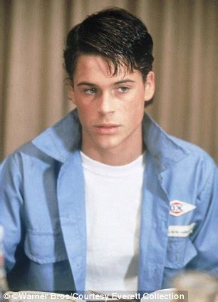 Good Looking Teen Actors   rob lowe complains about being too good looking daily