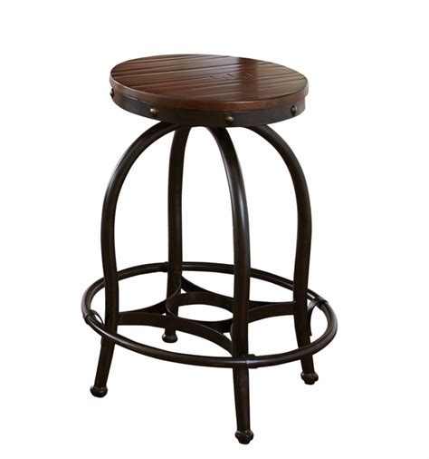 industrial counter height stools winston industrial counter height desk stool cherry