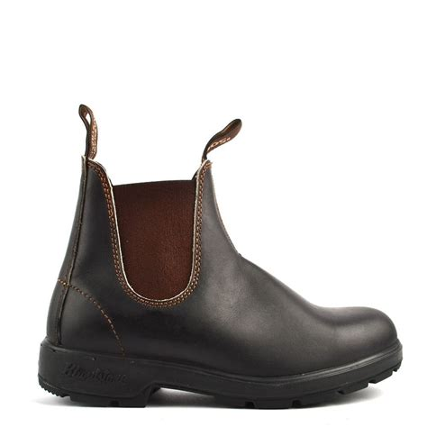 blundstone boots womens blundstone womens 500 classic brown leather boot