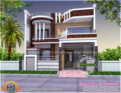 unique modern home design may 2014 kerala home design and floor plans