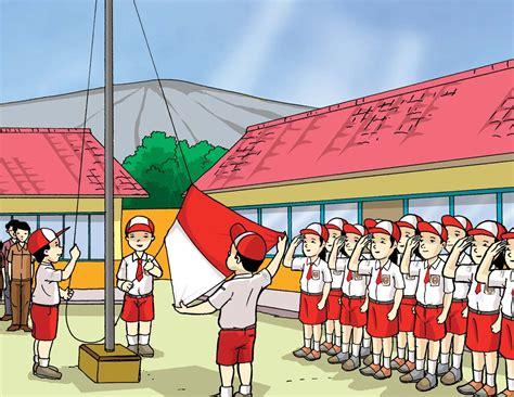 Seragam Sekolah Sd Merah Putih competition 171 jejak jari jemari intan