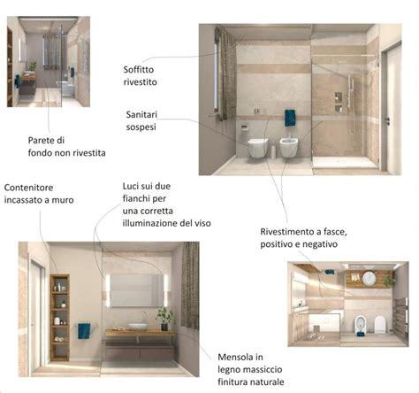 progetti bagno moderno bagno piastrelle ceramica anche a soffitto progetto