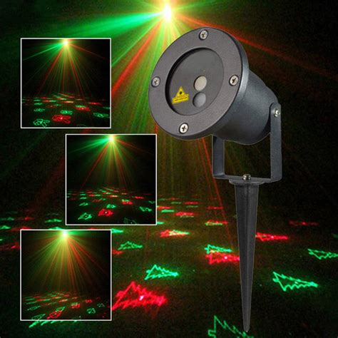 christmas pattern laser projector r g remote christmas 12 pattern waterproof laser projector