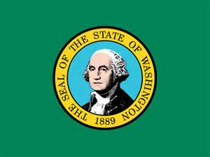 washington state colors state flag of washington usa american images