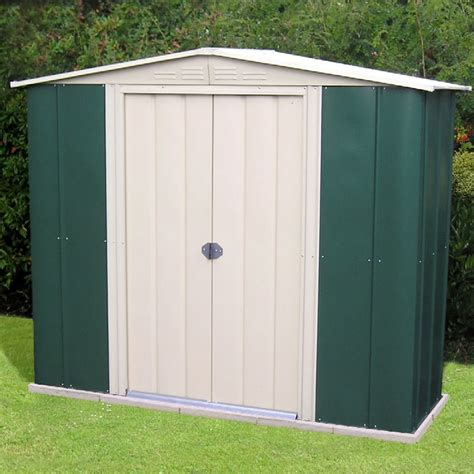 Aluminum Sheds Buying A Metal Shed Advice And Fitting Tuin Tuindeco