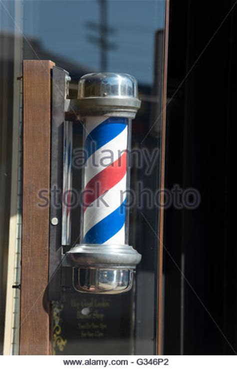 barber downtown fort myers barbers pole stock photos barbers pole stock images alamy
