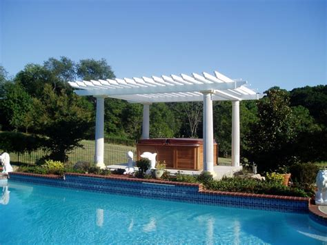 Pergola Gazebo Traditional Pool Baltimore By Pool Pergola Designs