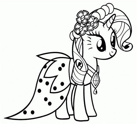 imagenes para colorear my little pony dibujos de my little pony para colorear pintar e imprimir