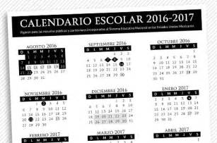 Calendario 2018 Tec De Monterrey Estos Los Calendarios Para El Ciclo Escolar 2016 2017