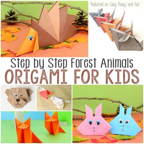 Origami Forest Animals - pin origami for on