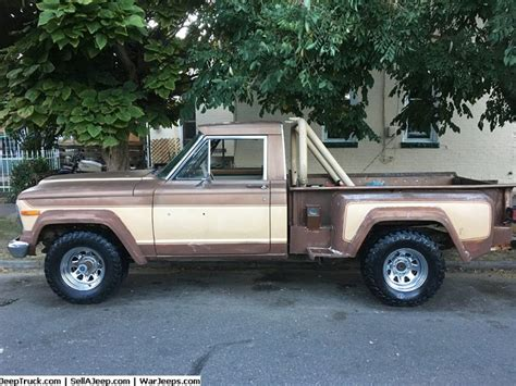 jeep honcho stepside 193 best images about jeep trucks for sale on pinterest