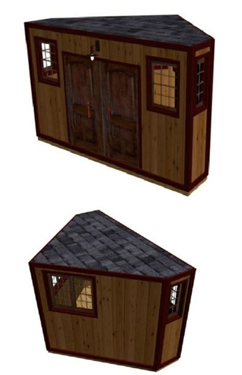 Corner Shed Designs by Shed Blueprints Cool Shed Designs And Plans