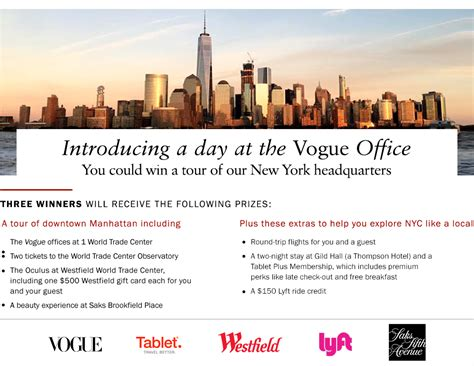 Vogue Sweepstakes - vogue office tour sweepstakes freebie mom