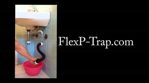 Bathroom Trap Installation Flexible Plumbing P Trap Presentation Youtube