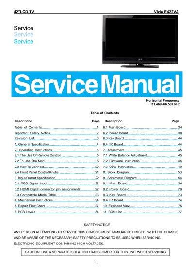 visio troubleshooting vizio tv schematics downloads get free image about