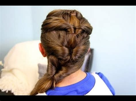 hair styles with flips for women quadruple flipped ponytail easy hairstyles cute girls