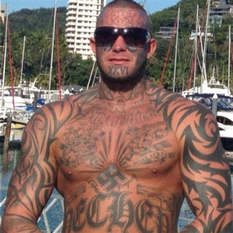 muslim face tattoo former bandidos bikie gang member brett pechey granted