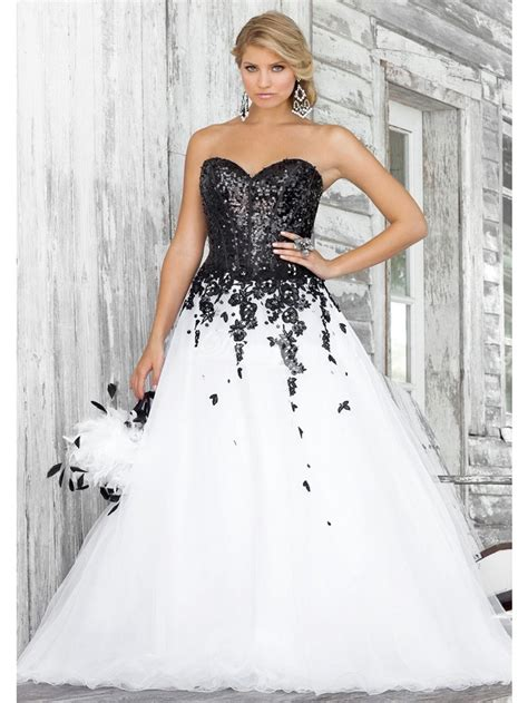 black princess wedding dresses 30 black and white wedding dresses combination fashion fuz