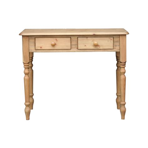 Pine Side Table Cottage Pine 2 Drawer Side Table