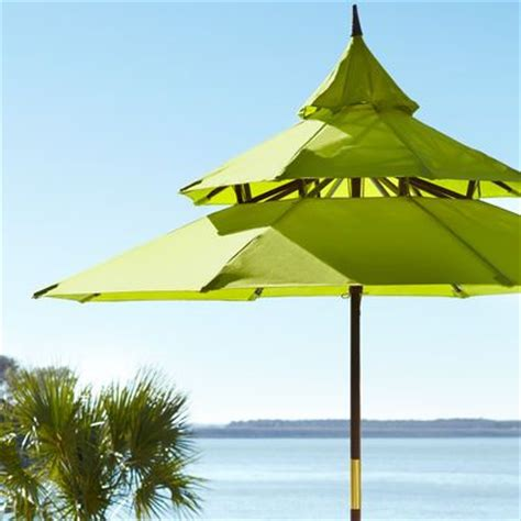 Citron Pagoda Umbrella Pier 1 Imports Party Bits Pier One Patio Umbrellas