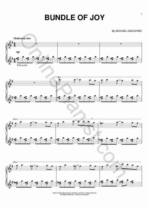Theme Song Inside Out | inside out theme piano sheet music onlinepianist