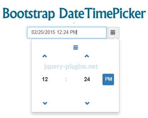 tutorial bootstrap datetimepicker bootstrap date time picker jquery plugins