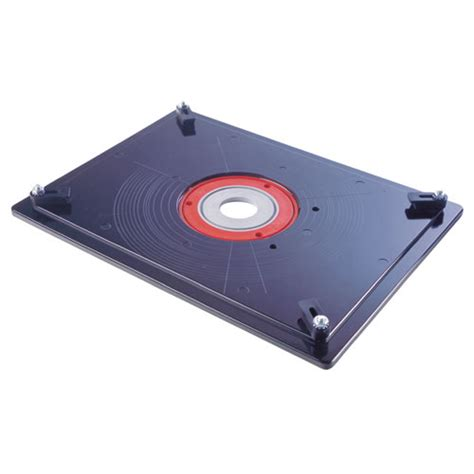 router table insert plate