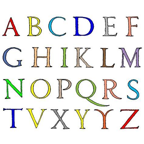 lettere alfabeto con disegni per bambini disegno di lettere alfabeto a colori per bambini