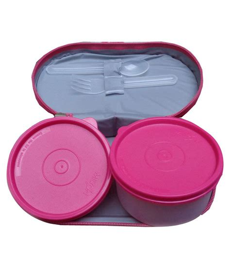 Lunch Box Polos Pink milton bon bon pink lunch box buy at best price in india snapdeal