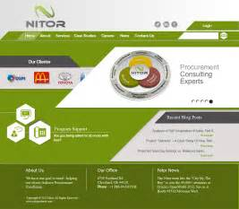 web page design web page design contests 187 nitor partners web page design