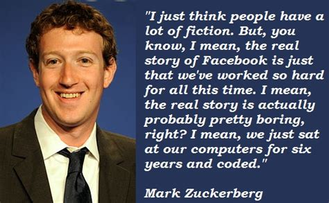 mark zuckerberg biography life story mark zuckerberg s quotes famous and not much