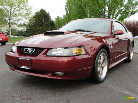 2004 ford mustang gt coupe in 40th anniversary crimson