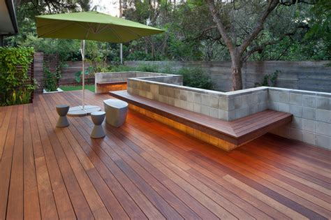 outside flooring ideen ipe outdoor living contemporary deck orlando by e2