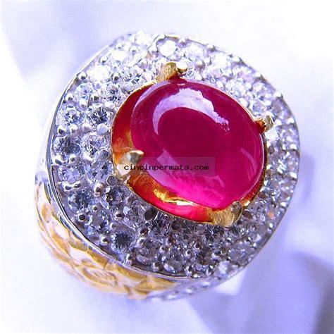 Cincin Ruby cincin batu mirah ruby cincinpermata jual batu