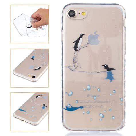 Soft Tpu Baby Skin Iphone 7 Softcase Anti anti skid soft back tpu gel painted silicone cover for iphone 5s 6s 7 plus ebay