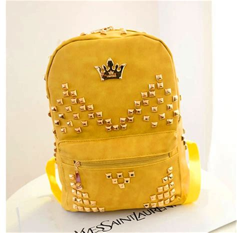 trendy leather school bags for cheap cool