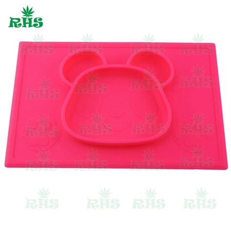 mini silicone placemat baby feeding mat one