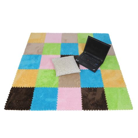 9pcs soft rug floor covering eva foam puzzle floor mats