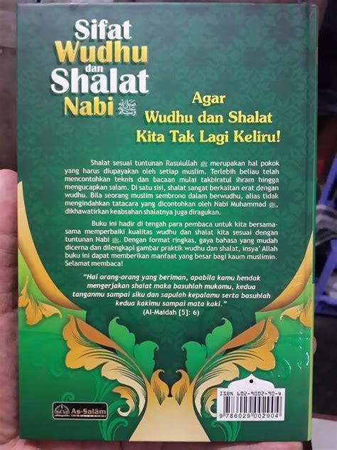 Mudahnya Shalat Malam buku sifat wudhu dan shalat nabi plus gambar peraga toko