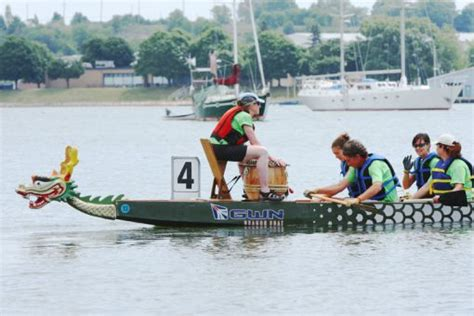 dragon boat festival kingston perks perils of dragon boating the journal