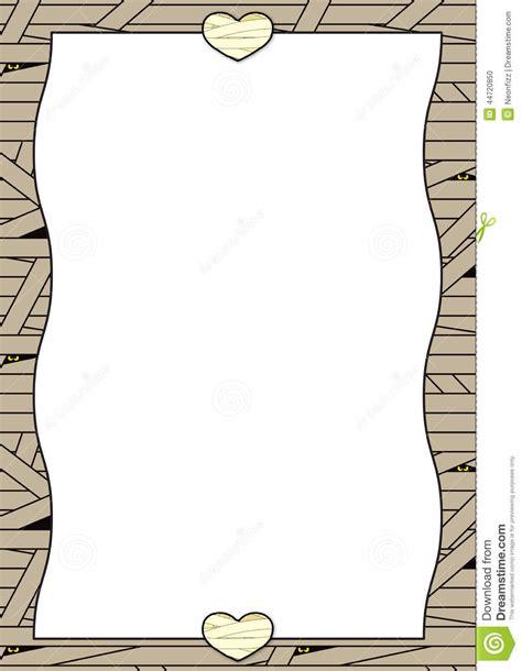 pattern background portrait halloween background bandaged mummy stock illustration