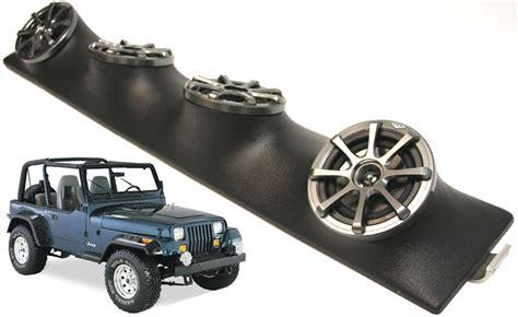 Speaker Rod Sound Box 8 jeep wrangler yj tj jk kicker package ks525 custom 4