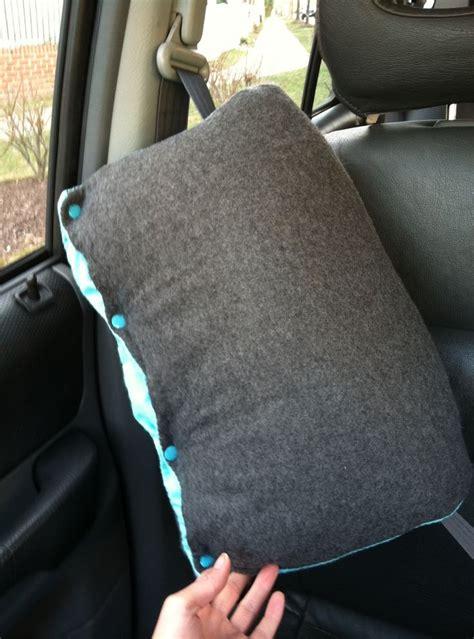Pillow Car by 25 Best Ideas About Seatbelt Pillow Tutorial On