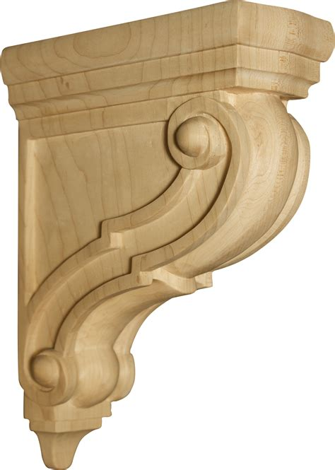 Decorative Wooden Corbels athens bar corbel